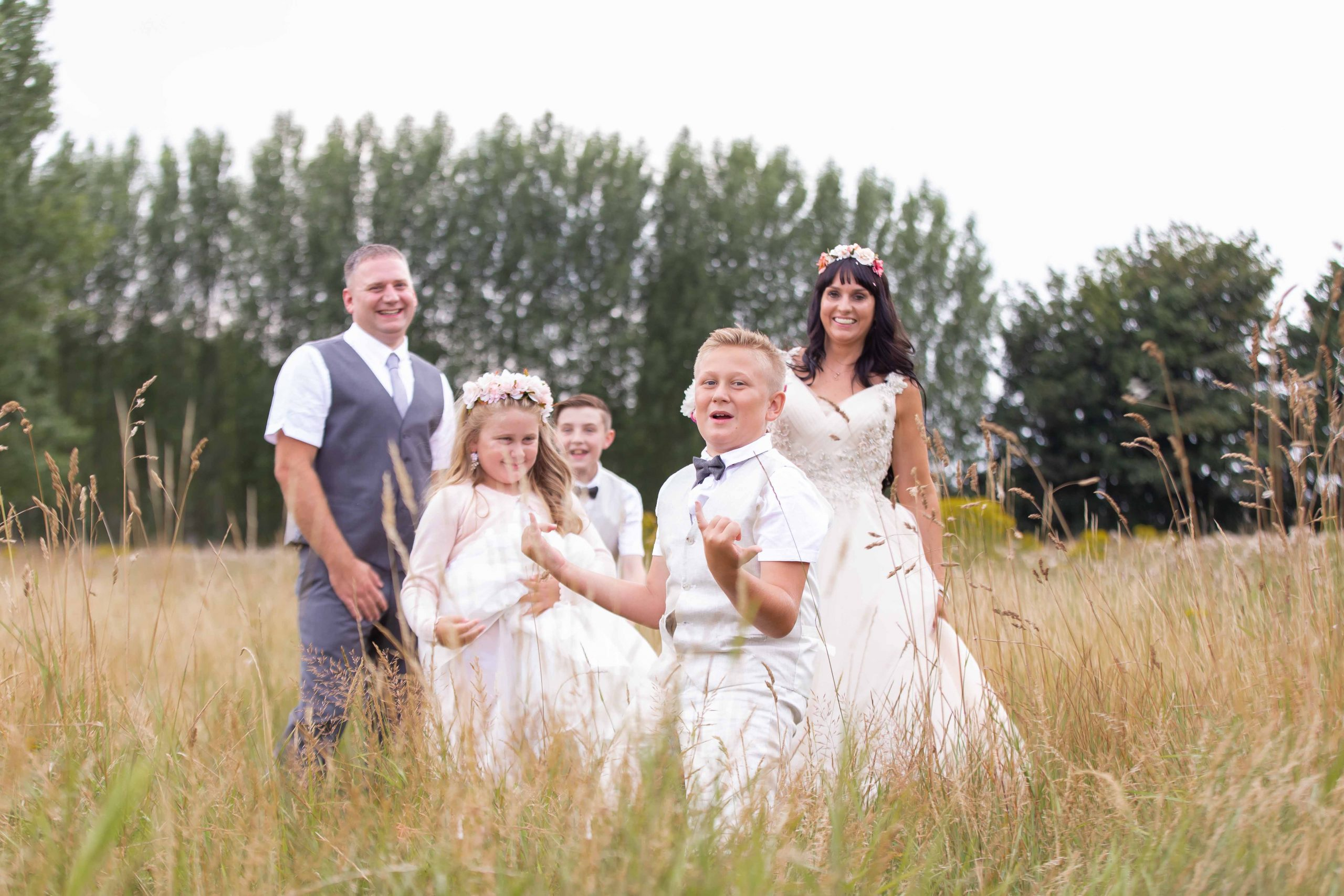 wedding family portraits