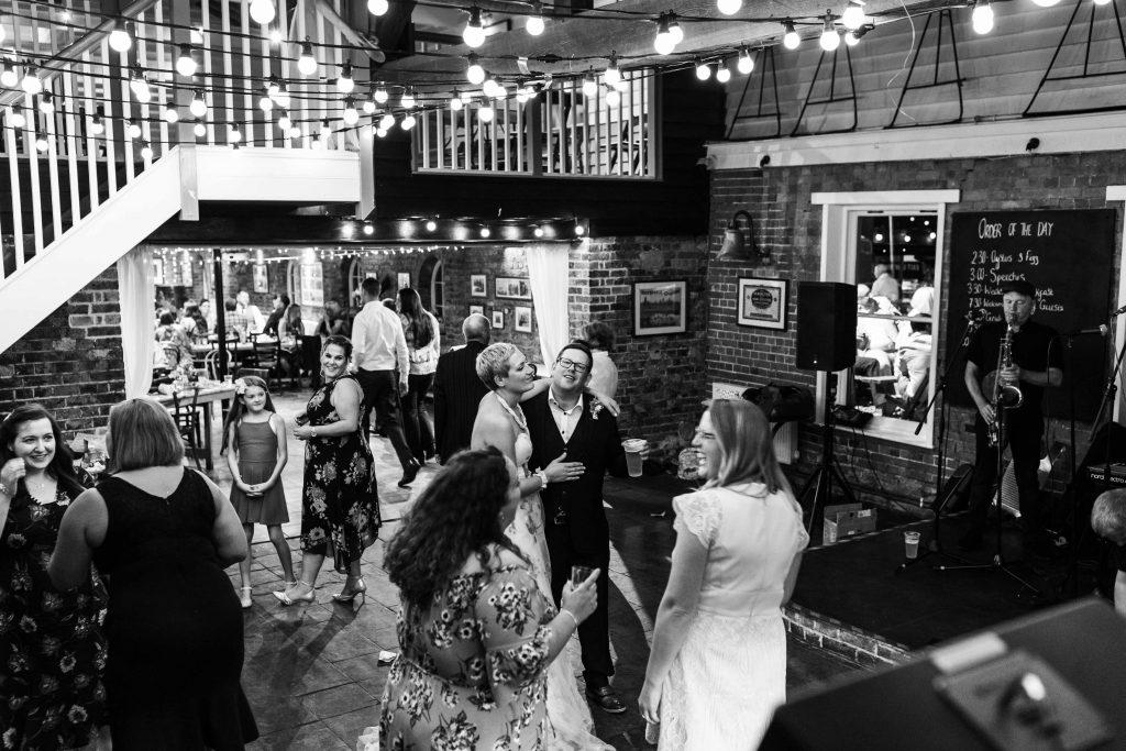 East quay wedding reception