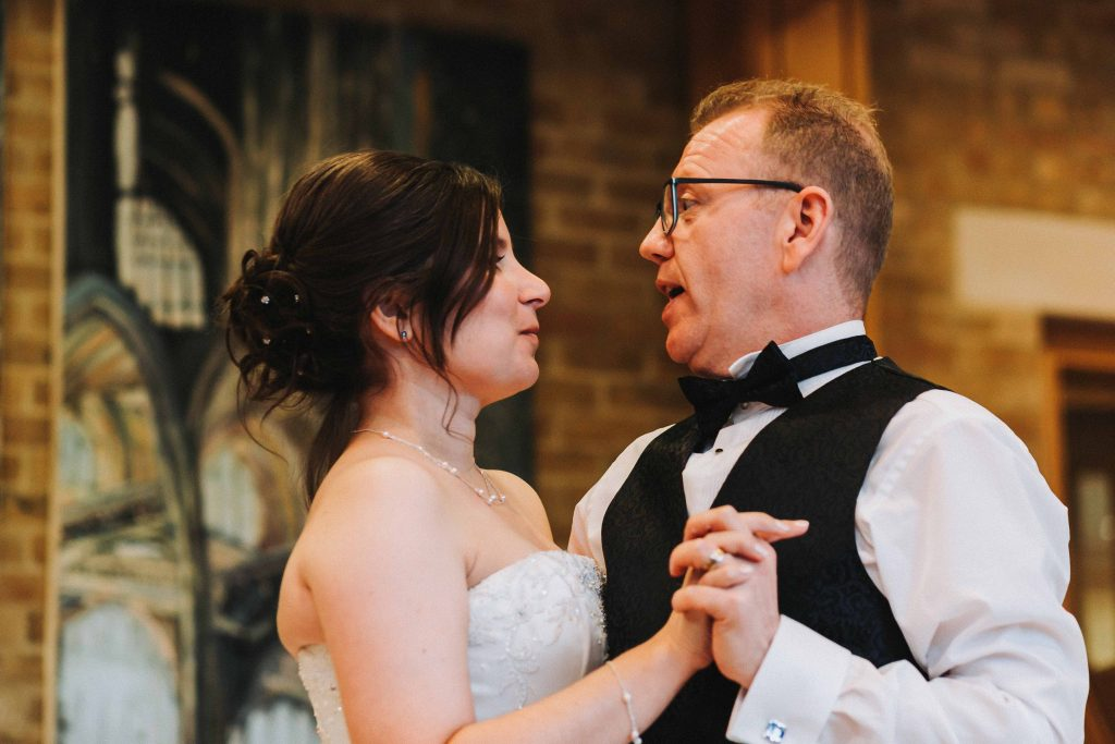 first dance at Canterbury Cathedral lodge
